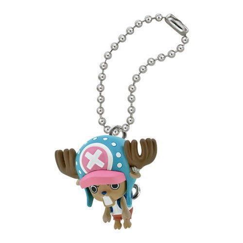 Bandai One Piece Pinched Mascot Key chain Swing Figure Chopper