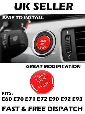 BMW Start Stop Moteur Bouton rouge culot X5 E70 X6 E71 Z4 E89 E92 E93 E90 E91 E60
