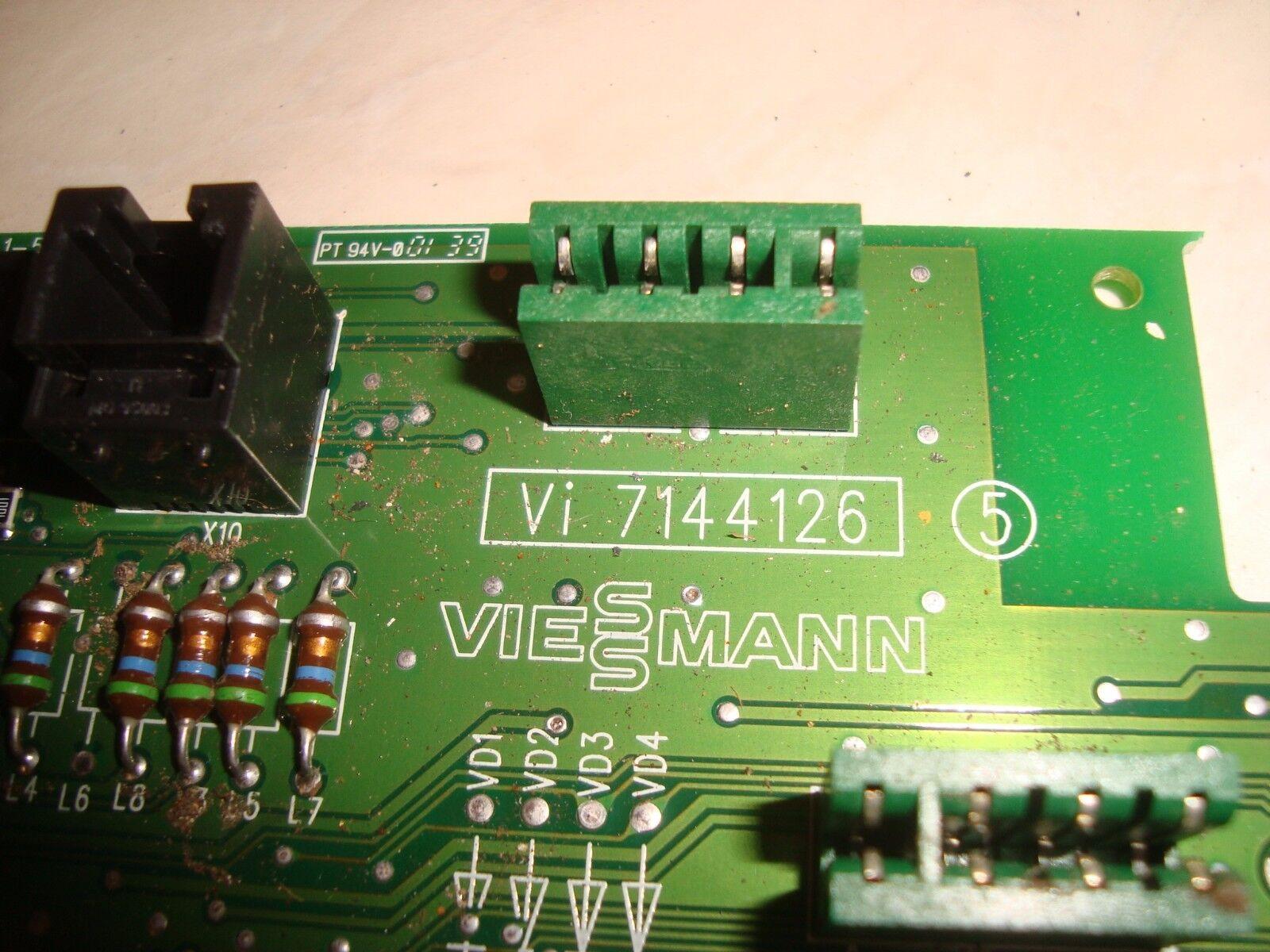 Viessmann 7144126, Steuerplatine, Vitotronic 300, 2 J. Garantie     b478 eedaed
