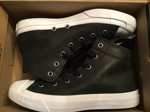 f1180e83f59c1a New Converse Jack Purcell Jack JP Mid Leather Shoes Sneakers 157707C sz 6.5  wmns