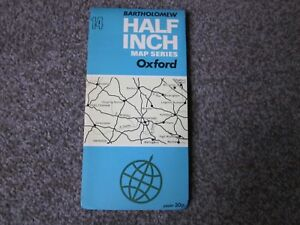 OXFORD-BARTHOLOMEW-HALF-INCH-MAP-SERIES-SHEET-14-1973-034