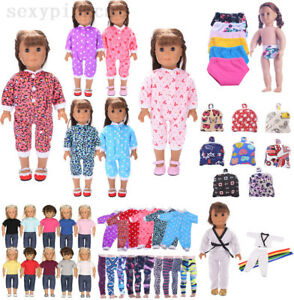 Doll-Clothes-Underwear-Pants-Shoes-Dress-Accessories-for-18inch-Doll-Girl-Toys