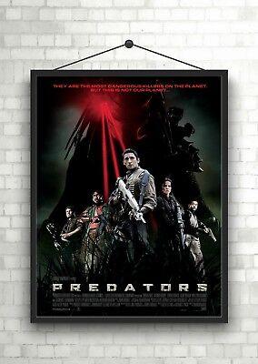 The Predator Large Movie Poster Art Print A0 A1 A2 A3 A4 Maxi