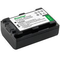1x Kastar Battery For Sony Np-fh50 Dslr-a230 Dslr-a290 Dslr-a330 Dslr-a380