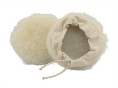 All Wool Bonnet 225mm FLE40125 Polishing Accessories 9in