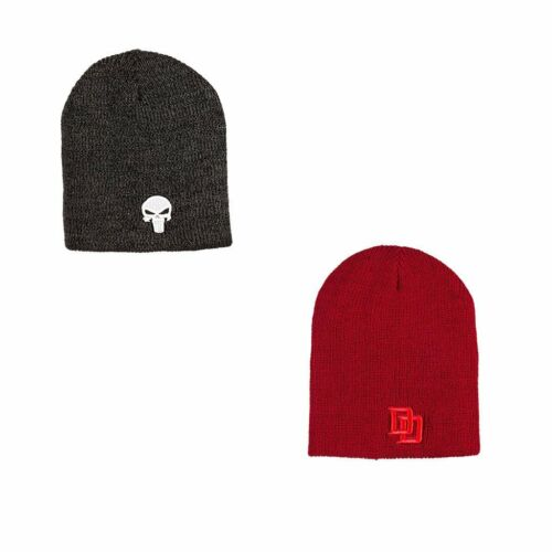 PUNISHER BIOWORLD REVEREABLE BEANIE HAT LOOT CRATE EXCLUSIVE DAREDEVIL MARVEL
