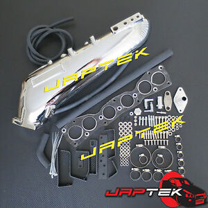 Hi-Flow-Intake-Manifold-Plenum-for-TOYOTA-2JZ-GTE-SUPRA-JZA80-ARISTO-MARK-II-JZ2