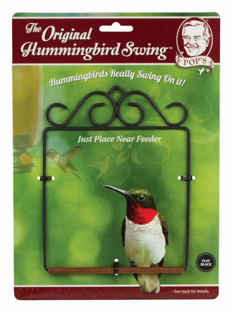 Pop/'s SWING-BL Hummingbird Swing Black