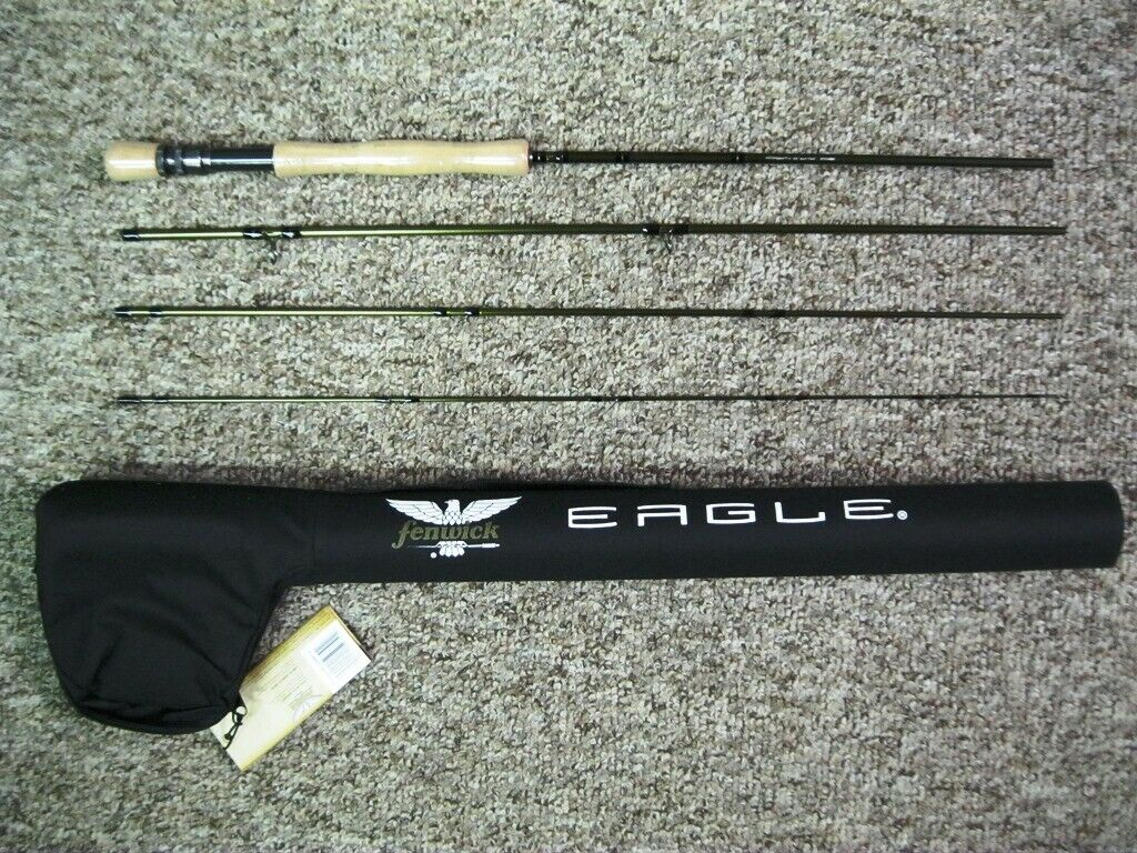 FENWICK EAGLE FLY ROD 9'0 5WT 4PC EAFLY905WT-4 BASS TROUT PIKE