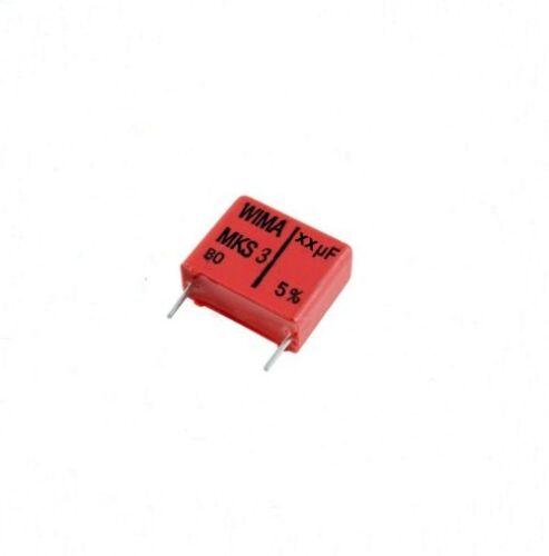 5st. rm7 22nf 5mm Wima 100v MKS diapositivas condensador//metal-poliéster