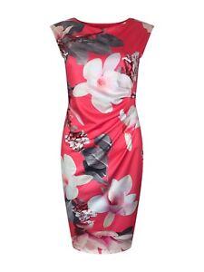 New-DOROTHY-PERKINS-Billie-amp-Blossom-Dress-Shift-Pink-Ivory-Grey-10-18-Bodycon