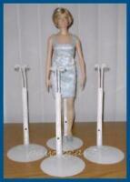 3 Kaiser Doll Stands For Franklin Mint Vinyl Princess Diana Titanic Rose Dolls