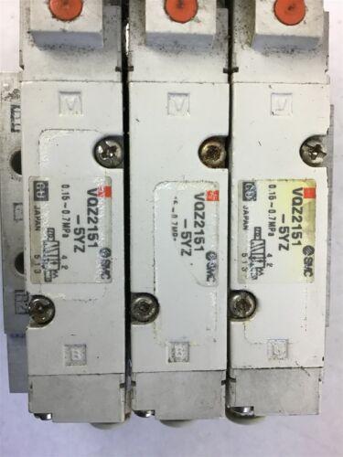 Details about  /Smc Vqz2151-5Yz Solenoid Valve Lot Of 3