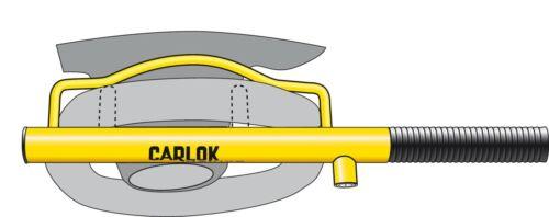 Lenkradschloss 60230600 Kleinmetall Carlok Deluxe Diebstahlsicherung das 2