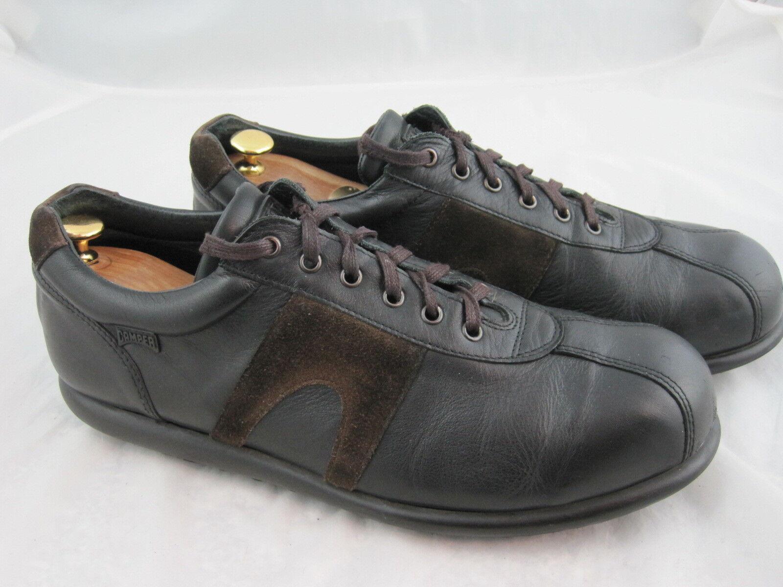 Camper Pelotas Chaussures Hommes en 47 UK 12 Bon état NOIR