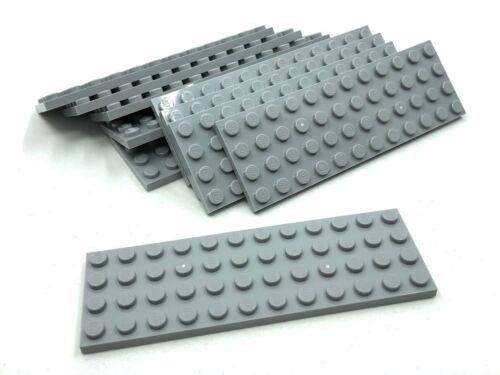 LEGO 10pcs NEW Grey 4x12 Plate Bulk Lot 3029 4211401