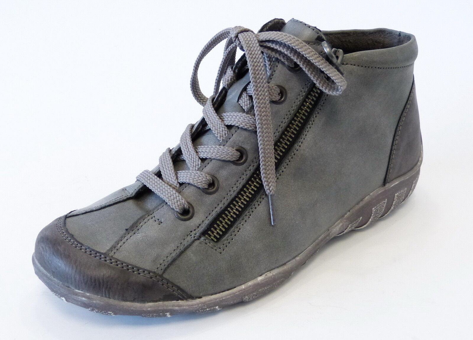 Remonte scarpe da ginnastica avvio r3475 01 01 01 fumo grigio in Pelle Larghezza G LAMPO LACCI | Qualità In Primo Luogo  | Scolaro/Ragazze Scarpa  0ca594