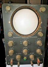 Vintage Heathkit Laboratory Oscilloscope Model 0 11 Works