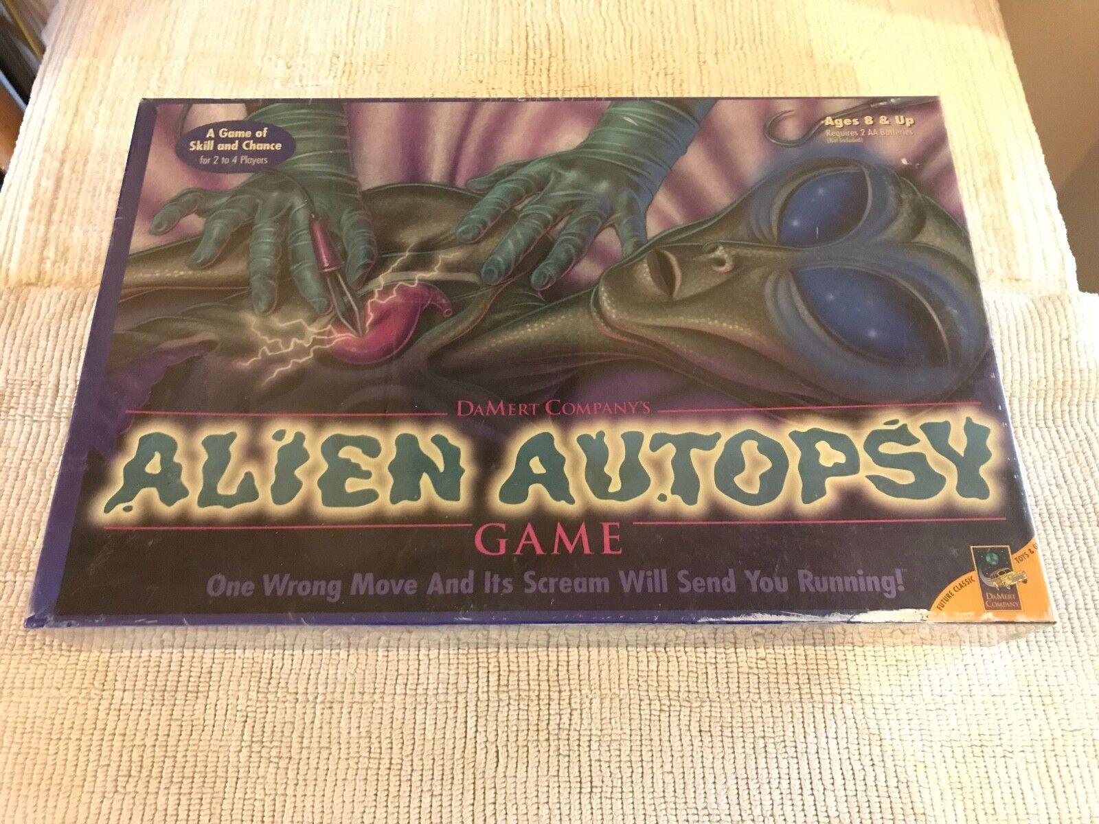 Vintage 1997 DaMert Alien Autopsy Game NEW