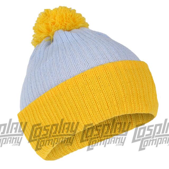 Cartman Bobble Hat Blue Yellow Beanie South Park Ski Snowboard for ... d2ea385476f