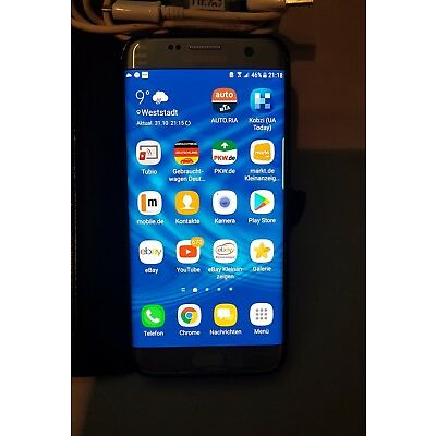 Samsung Galaxy S7 edge SM-G935F (aktuellstes Modell) - 32GB  GOLD