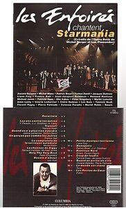 LES-ENFOIRES-1993-chantent-starmania-CD-ALBUM-jean-jacques-goldman