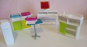 Barbie-Office-Computer-Center-Cabinets-Computer-Printer-Vintage