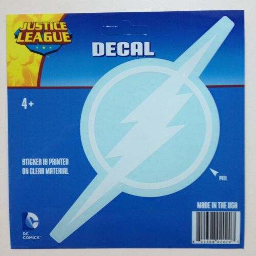 """DC Justice League The Flash White logo Car Window Sticker Decal 7/"""""""