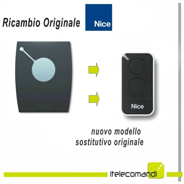 TELECOMANDO APRICANCELLO NICE ONE ON1 > ON2 433,93Mhz