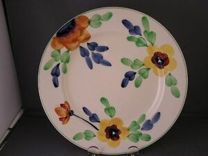 BAKER-amp-CO-LTD-ENGLAND-H-P-FLORAL-LUNCHEON-PLATE