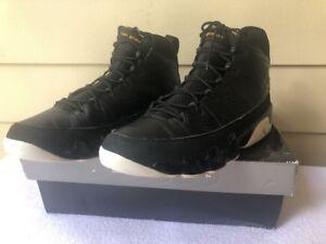 buy popular 7ca0c ff313 Image is loading Men-s-Nike-Air-Jordan-Retro-9-Black-