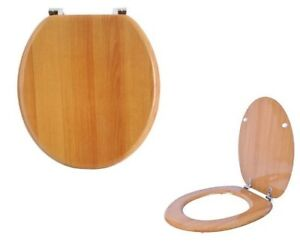Details About Antique Pine Mdf Traditional Quality Wooden Toilet Wc Seat Bathroom Bath Room