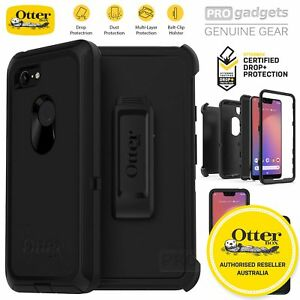 hot sale online 5ca7c 0cbba Details about Google Pixel 3 XL Case, Genuine OtterBox Defender Rugged  Tough Cover for Google
