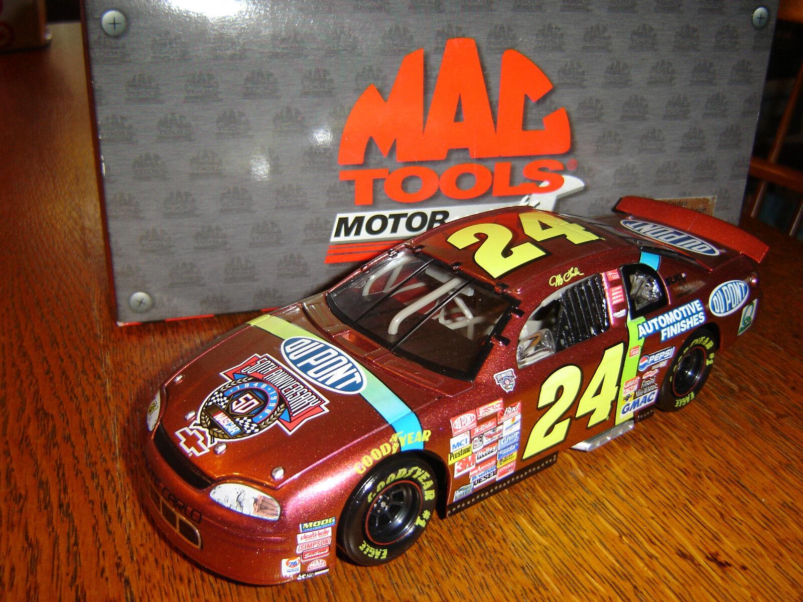cómodo  24 Jeff Jeff Jeff Gordon 1998 Dupont chromalusion por Mac herramientas MotorDeporte acción 1 24  la mejor selección de
