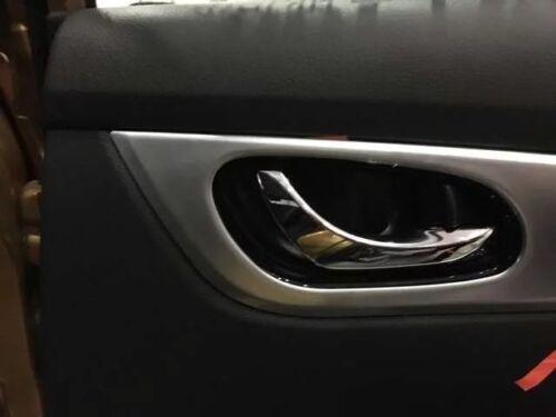 Fit for Nissan Qashqai J11 2014-2018 Cover Trim Keyless Door Handle 4 Set Decor