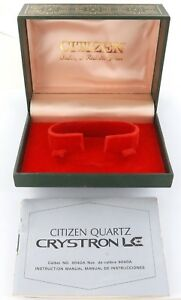 VINTAGE-CITIZEN-QUARTZ-CRYSTON-LC-CAL-9040A-DISPLAY-BOX-INSTRUCTION-MANUAL