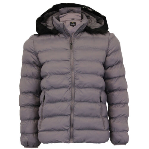 Mens Bubble Jacket Brave Soul Coat Camo Threadbare Hooded Quilted Padded Winter