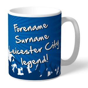 Leicester Ciudad F.C- Personalizado Taza de Cerámica (Leyenda)