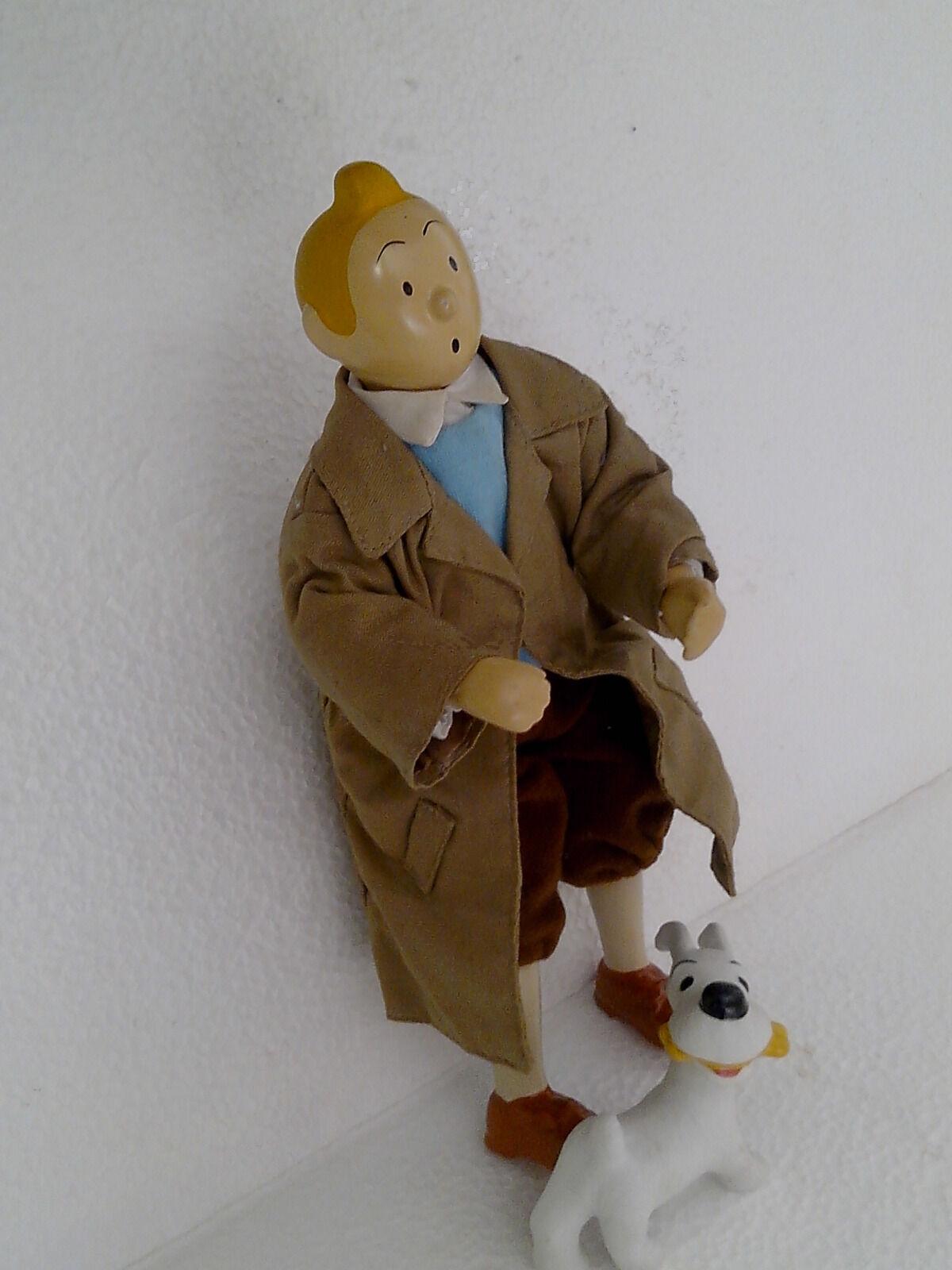 Tintin  and milou-very old figurines-porcelain -  jusqu'à 34% de réduction sur tous les produits