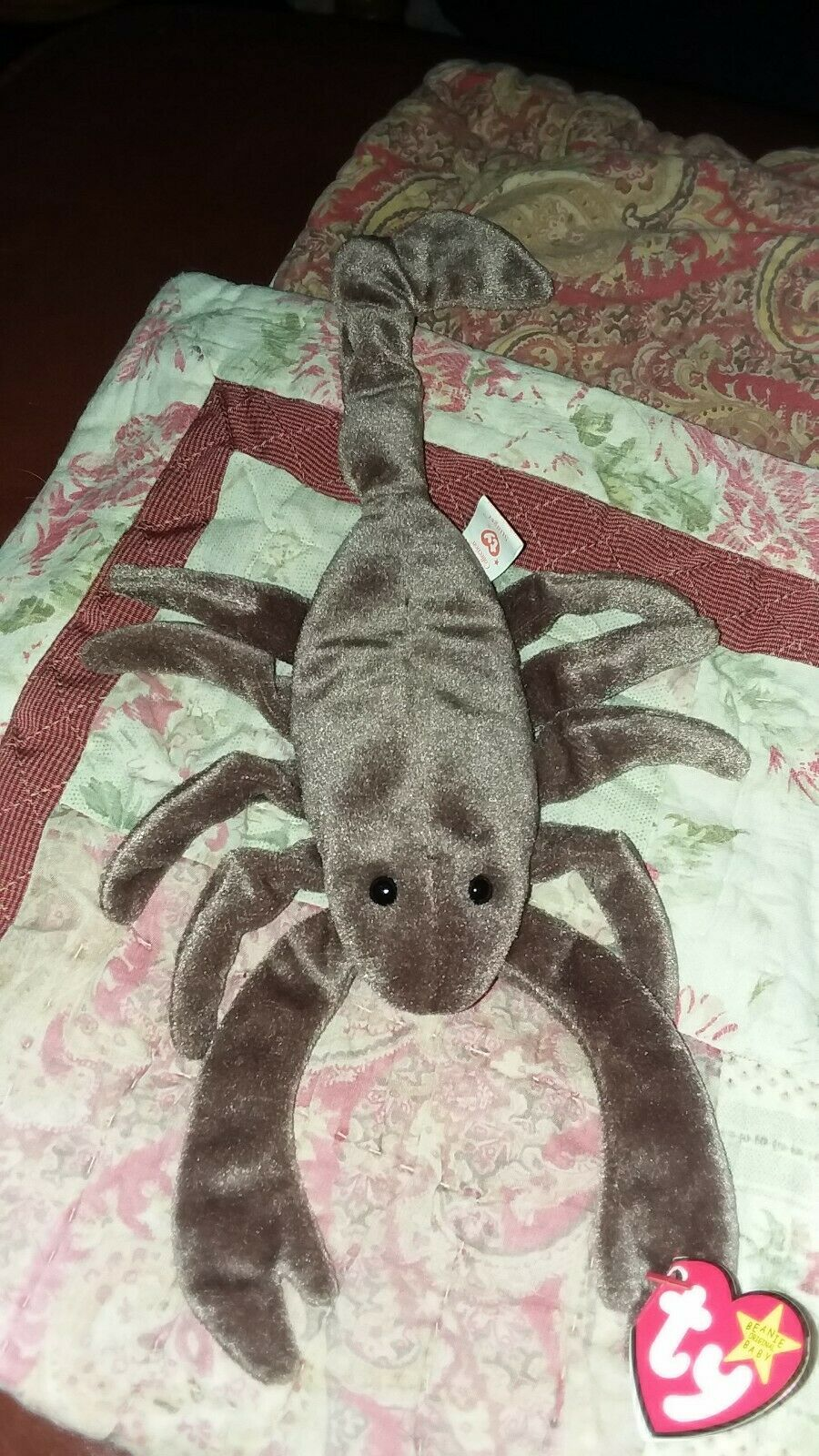 STINGER THE SCORPION September 29, 1997 Toy TY Beanie Beanie Beanie Baby Babies  Retired 6f2045