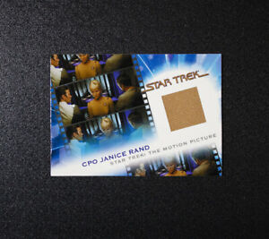 2007 Star Trek The Motion Picture Grace Lee Whitney MC7 Janice Rand Costume Card