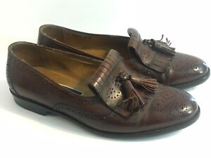 Cole Haan Bragano Mens 8 D Leather Boat