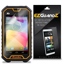 6X EZguardz Screen Protector Skin Cover Shield HD 6X For Runbo X6 (Ultra Clear)