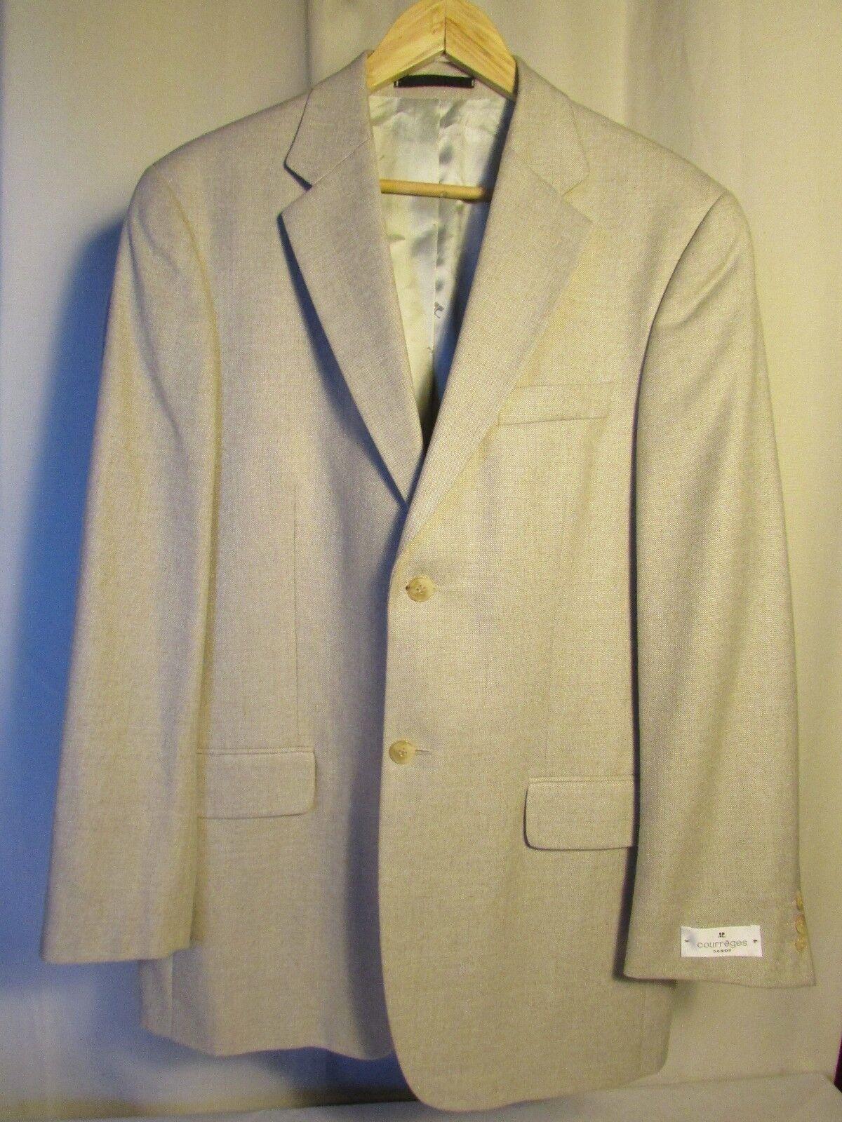 Veste blazer COURREGES color ficelle 52