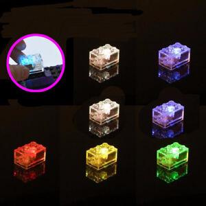 2017 LED Light Building Blocks Colorful Light-emitting Toy Christmas Gifts