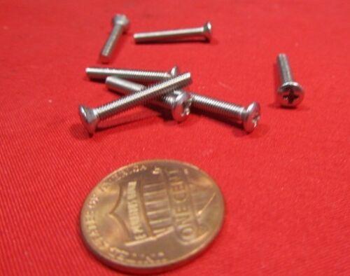100 pcs M3 x 20 mm L Oval Head Metric Phillips Machine Screw 18-8 Stainless