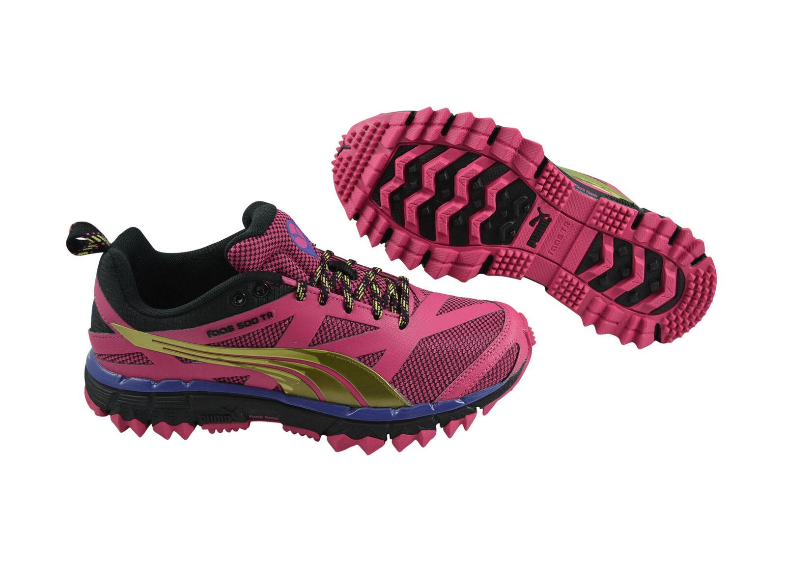 Puma Faas 500 TR Wn's purple black Trekkingschuhe Laufschuhe 304597 04 pink