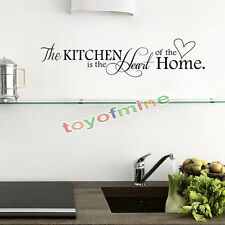 Item 1 Kitchen Words Wall Stickers Decal Home Decor Vinyl Art Mural New DIY  Removable  Kitchen Words Wall Stickers Decal Home Decor Vinyl Art Mural New  DIY ...