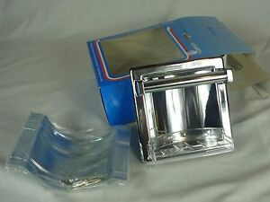 Image Is Loading Nos Liberty Chrome Recessed Soap Dish With Grab