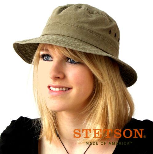 Stetson Reston Sonnenhut mit UV Schutz Hut Schlapphut